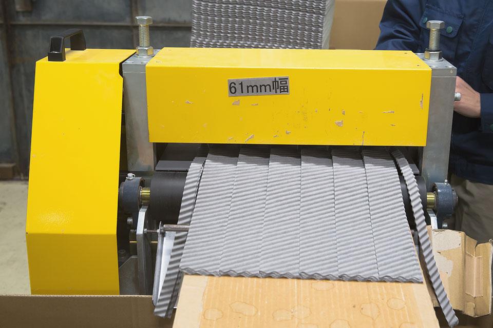 Consecutive corrugate processing, Corrugating3
